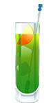 Zelený sršeň